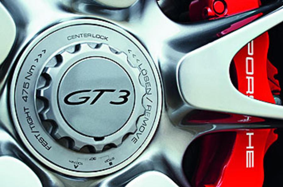 Porsche 911 GT3 Clubsport alloy wheels