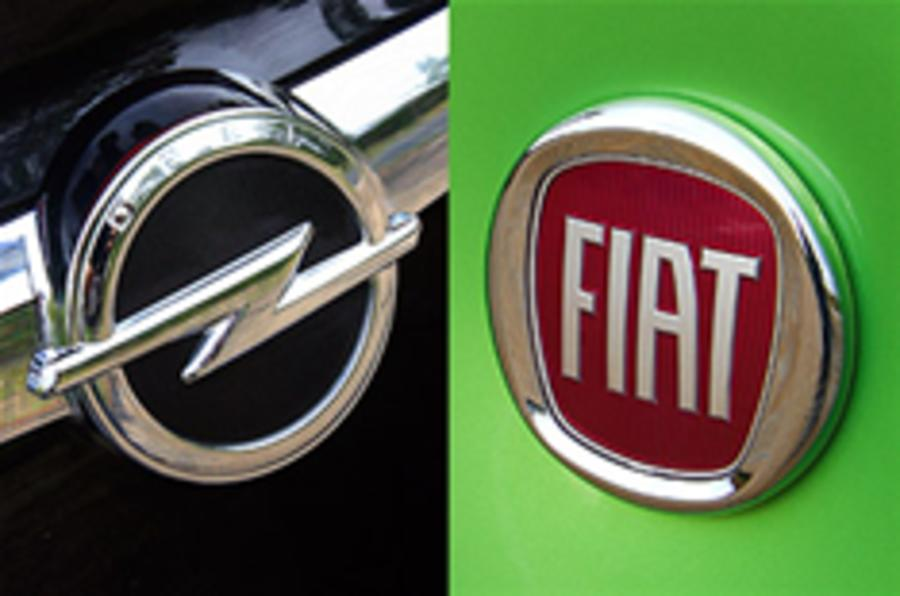 Magna, Fiat are rivals for Opel