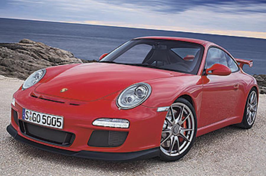 Porsche 911 GT3 Clubsport front quarter