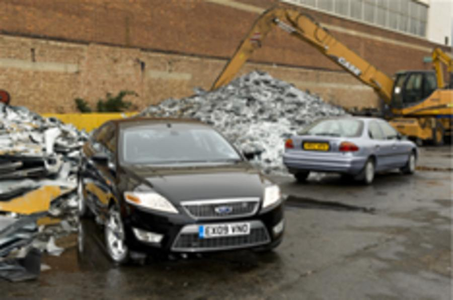Scrappage begins with more rows