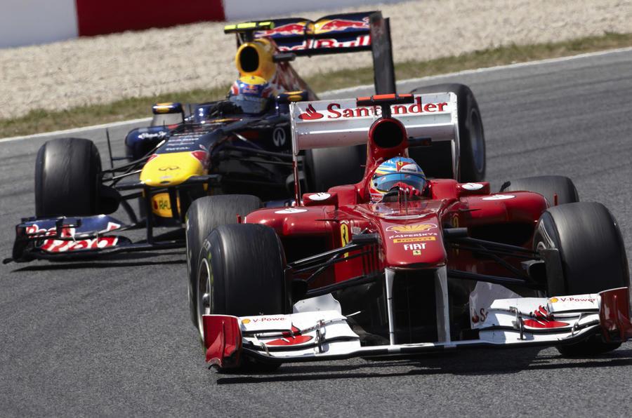 Vettel reigns in Spain - pics