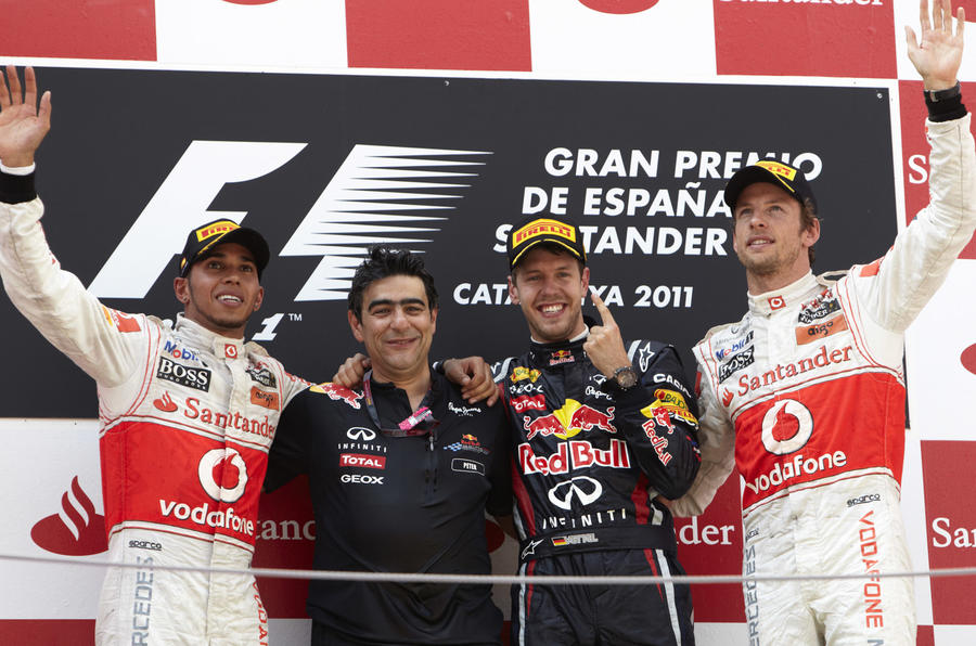 Vettel reigns in Spain - pics