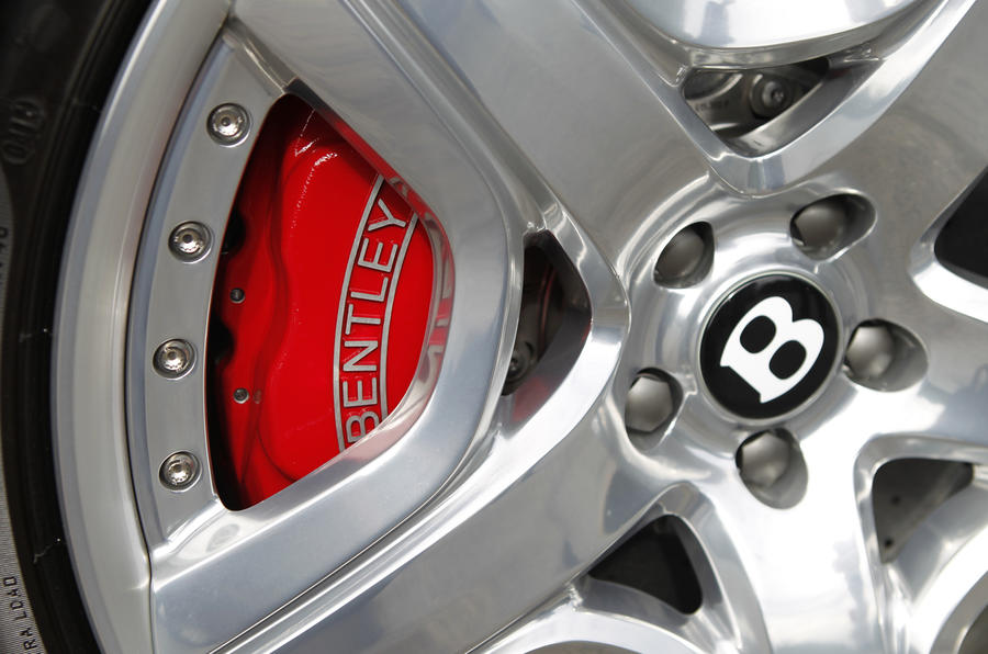 Bentley Continental GT red brake calipers
