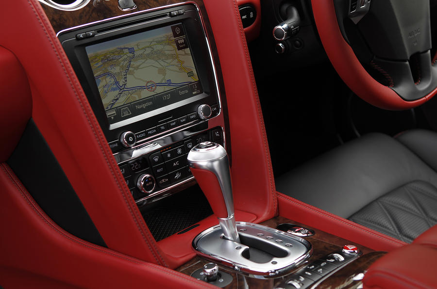 Bentley Continental GT automatic gearbox