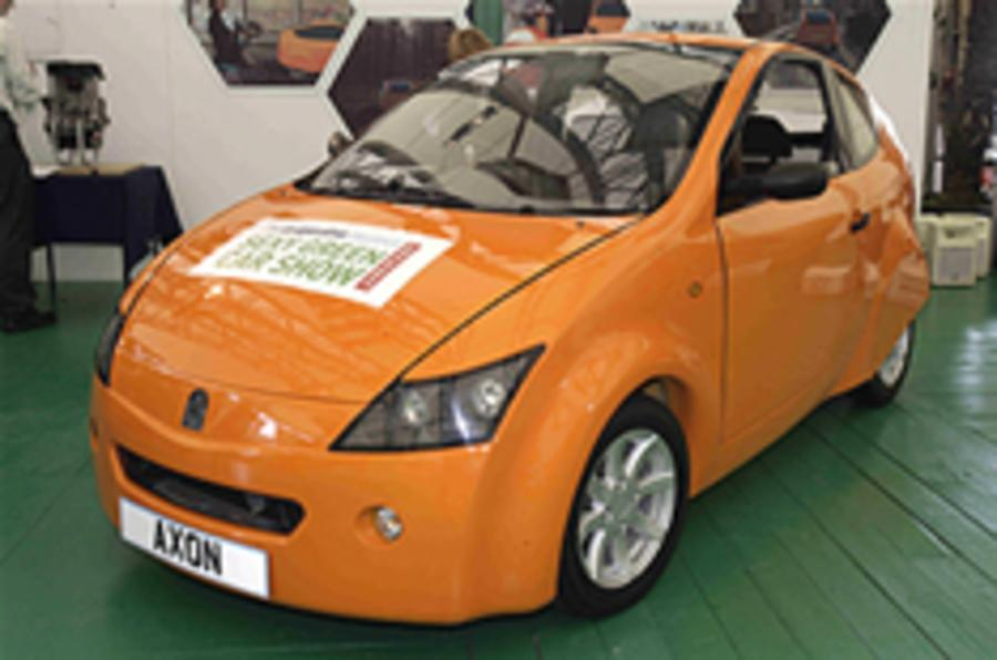 The 100mpg Axon city car