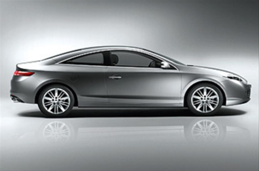 renault laguna coupe 3 0 v6 dci review autocar. Black Bedroom Furniture Sets. Home Design Ideas