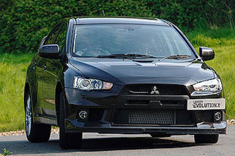 Mitsubishi Evo FQ-360 GSR