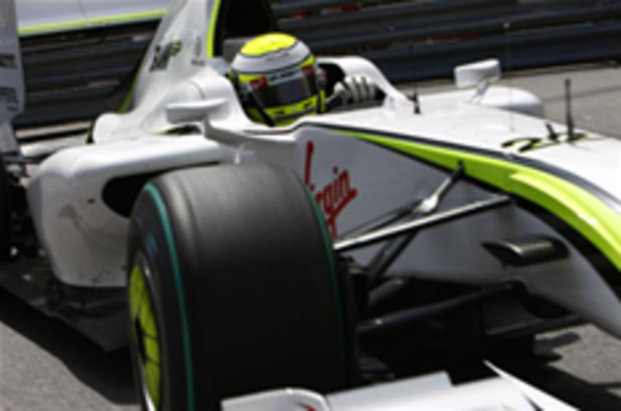 Button takes Monaco F1 pole
