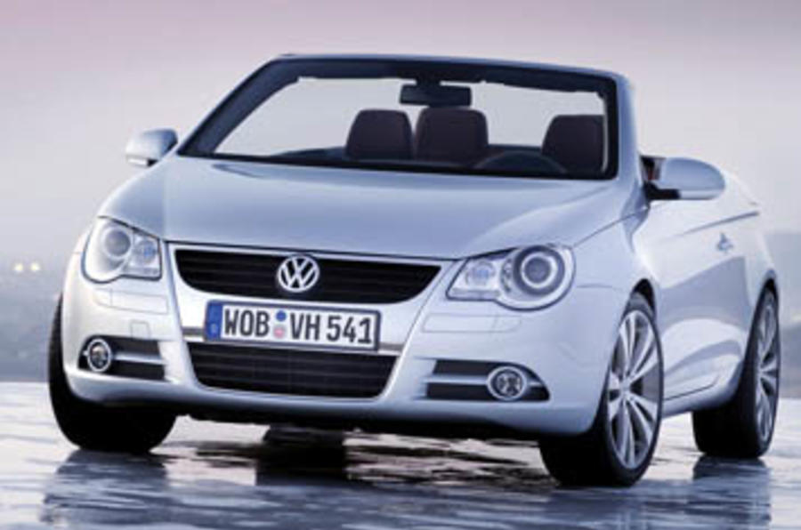 vw eos 2 0 fsi sport review autocar. Black Bedroom Furniture Sets. Home Design Ideas