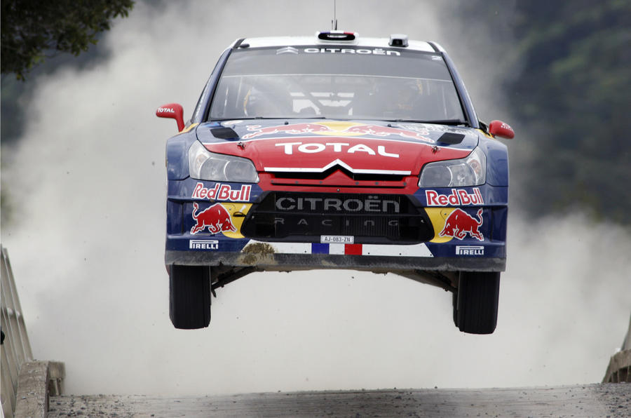 Citroën's biggest rally jumps