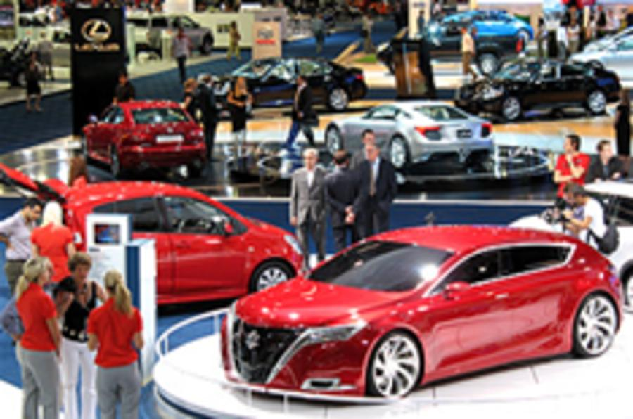 London Motor Show a hit