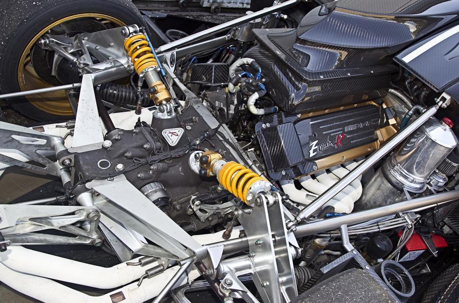 6.0-litre AMG Pagani Zonda R engine