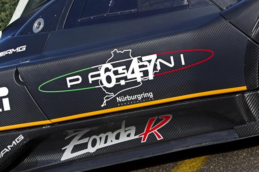 Pagani Zonda R Nurburgring time