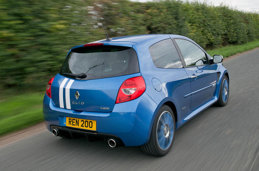Renault Clio Gordini 200 rear