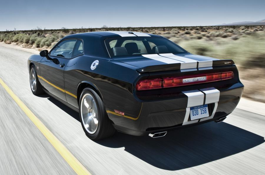 Dodge Challenge SRT-8 rear