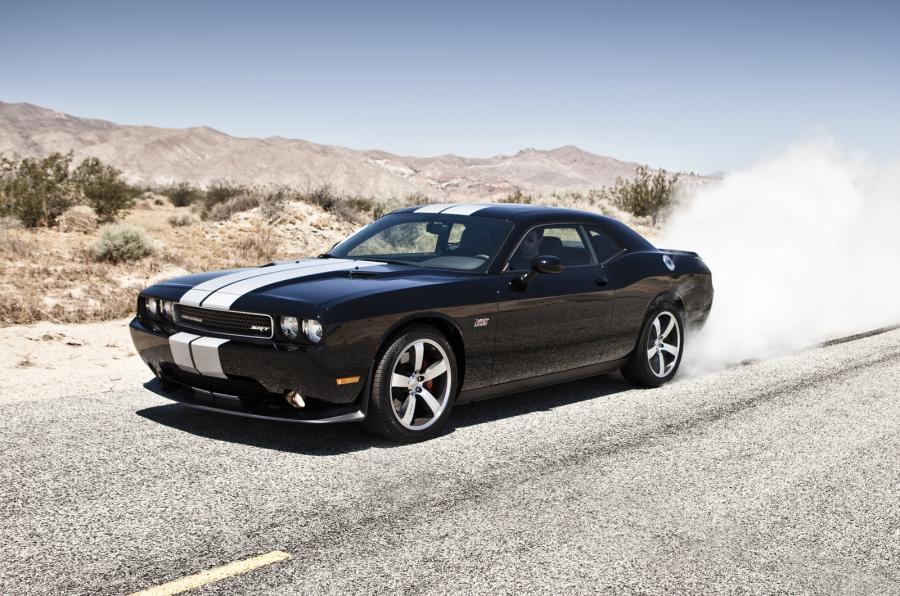 The 464bhp Dodge Challenger SRT-8