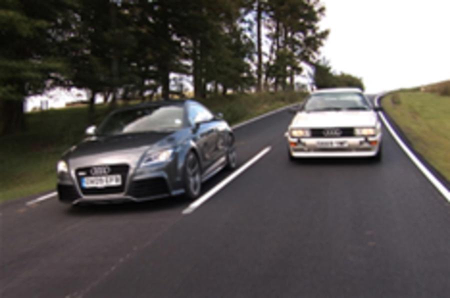 Video: Audi TT RS meets Quattro