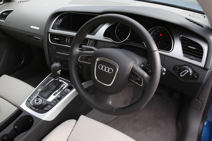 Audi A5 Sportback dashboard