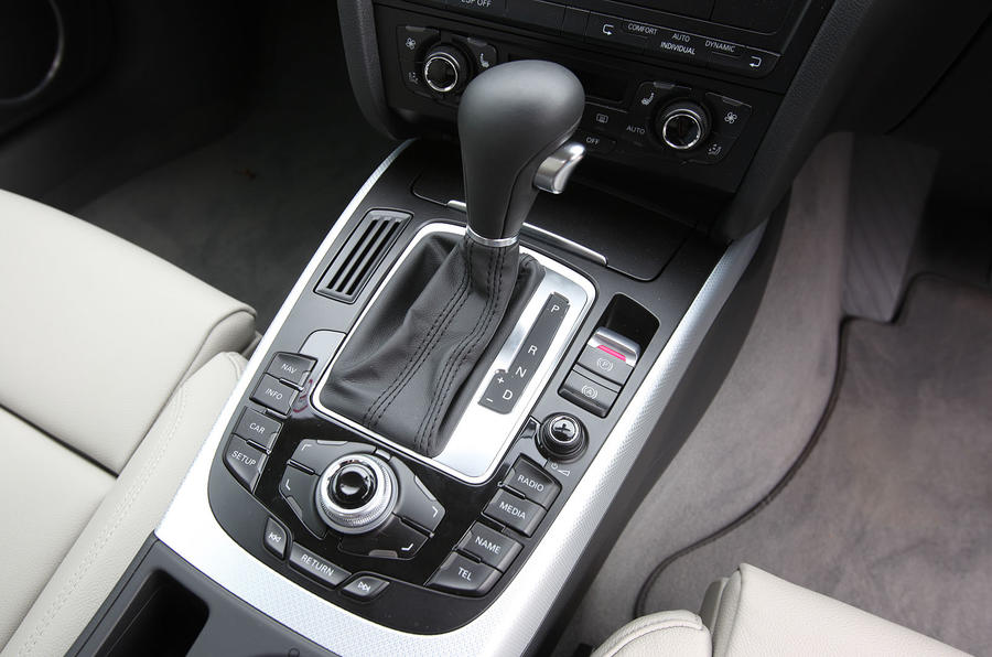 Audi A5 Sportback automatic gearbox