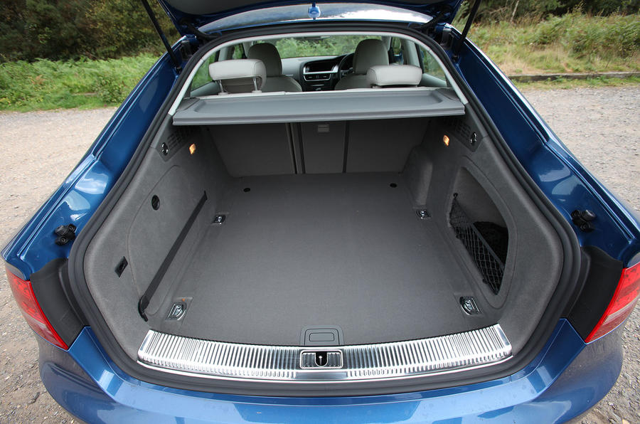 Audi A5 Sportback boot space