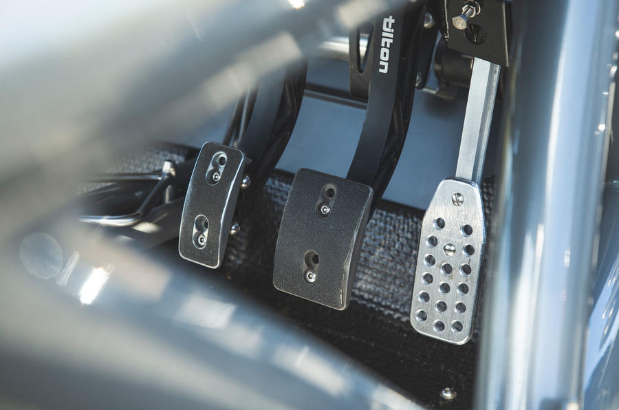 Ariel Atom 4 2019 road test review - pedals