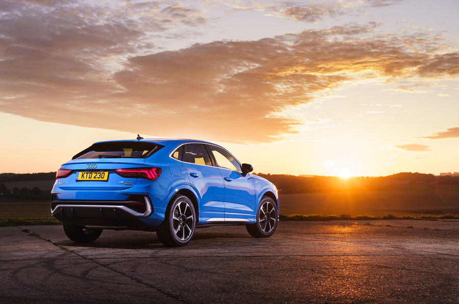 Audi Q3 Sportback 2019 road test review - static rear