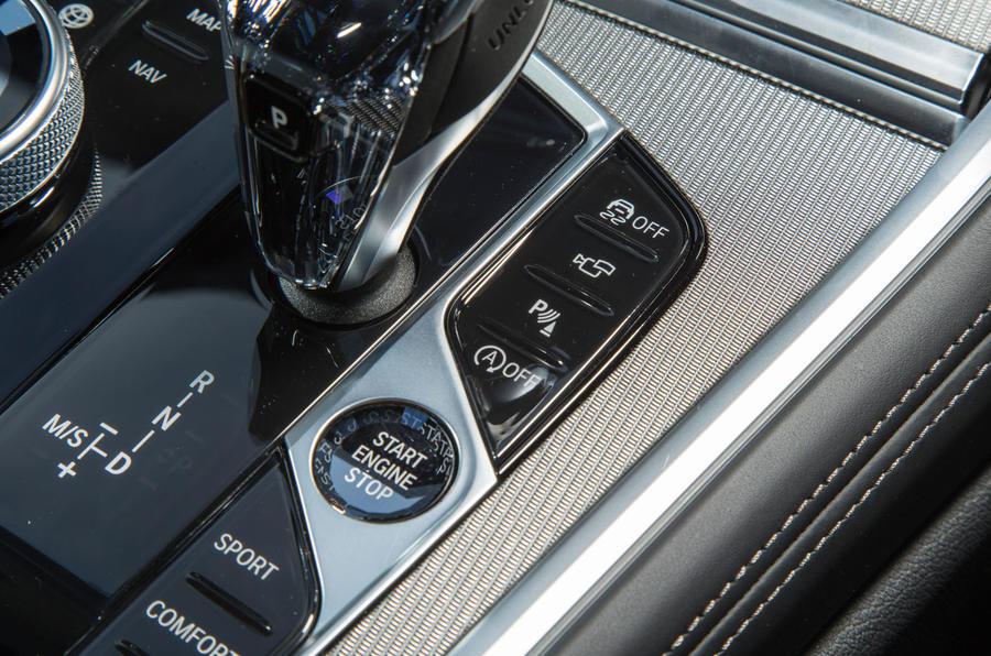 BMW 8 Series Coupé 2019 road test review - parking modes