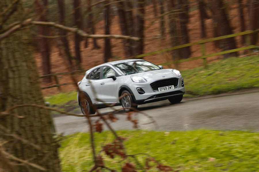 Ford Puma 2020 road test review - driving