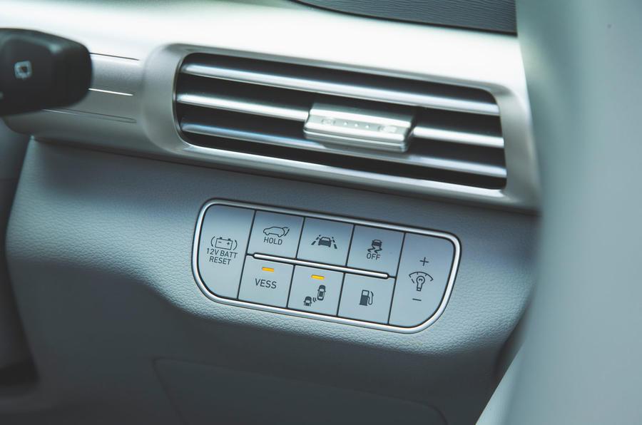 Hyundai Nexo 2019 road test review - ADAS controls