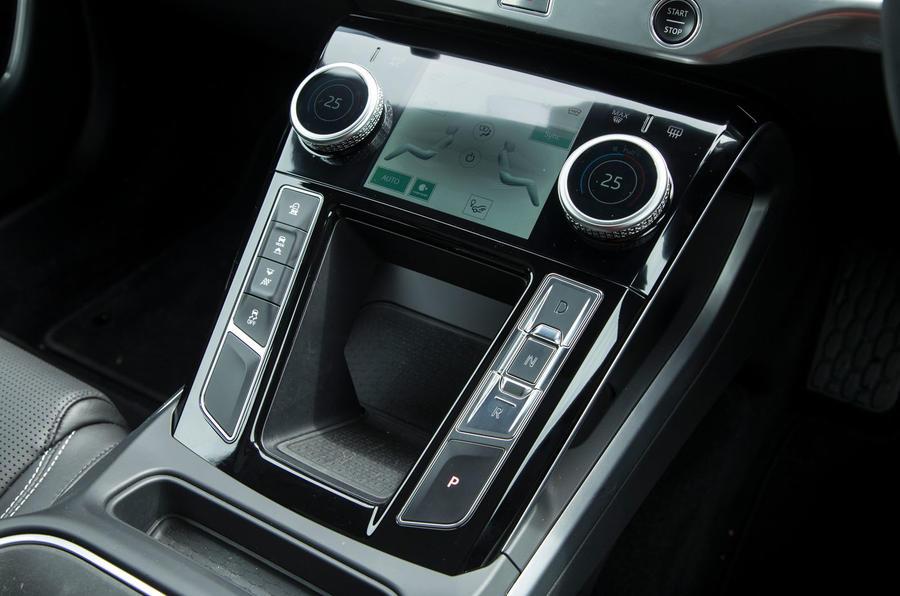 Jaguar I-Pace 2018 road test review centre console