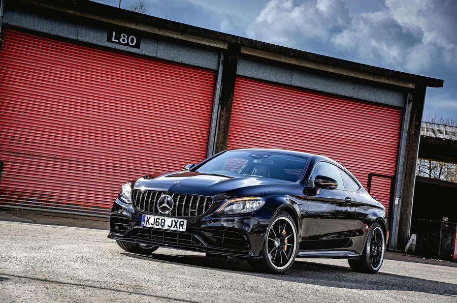 Mercedes-AMG C63 Coupé 2019 road test review - static
