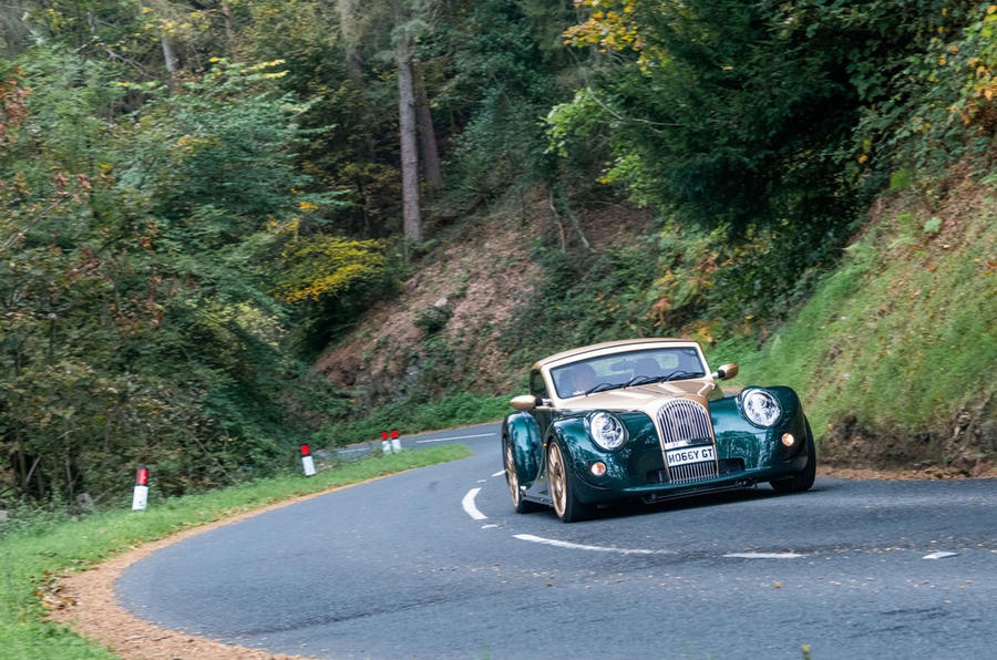 Morgan Aero GT 2018 review - cornering