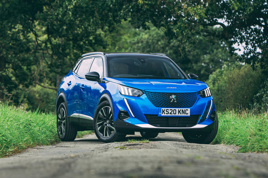 Peugeot e-2008 2020 road test review - static