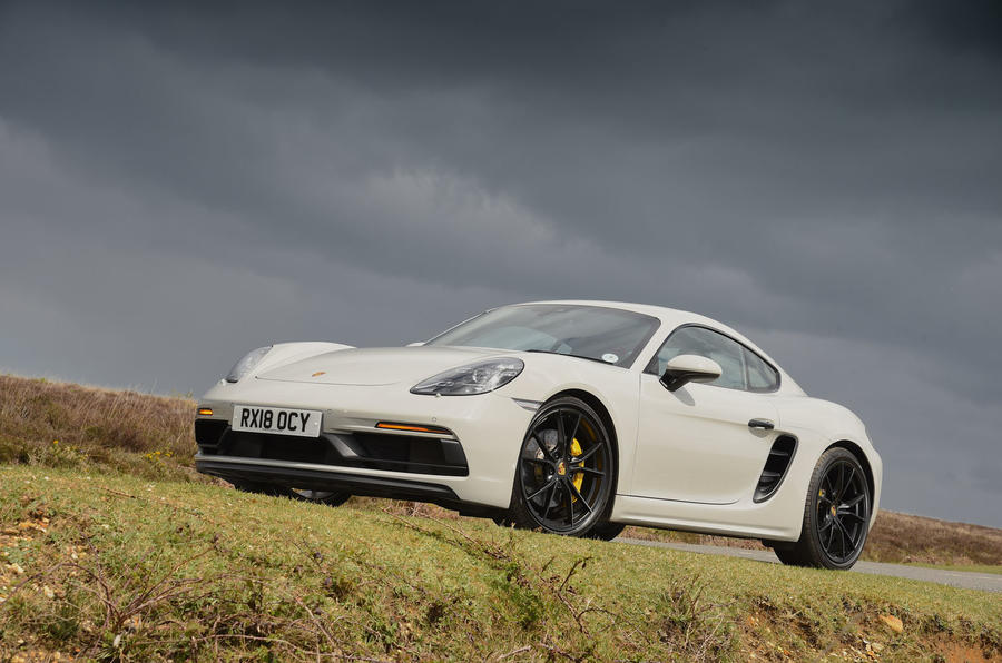Porsche 718 Cayman GTS 2018 review hero static