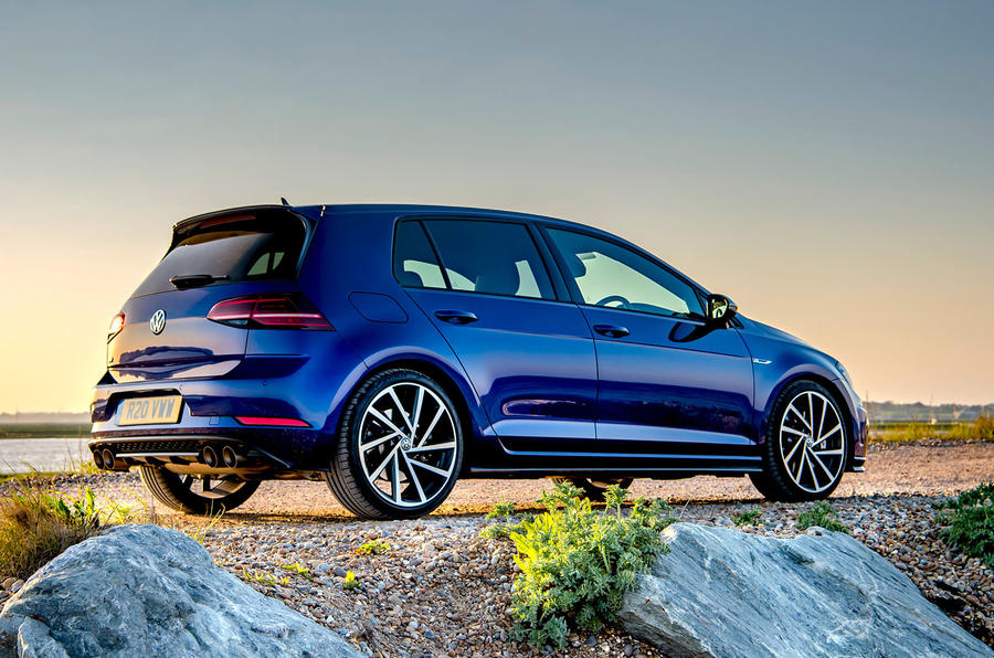 Volkswagen Golf R 2019 road test review - static rear