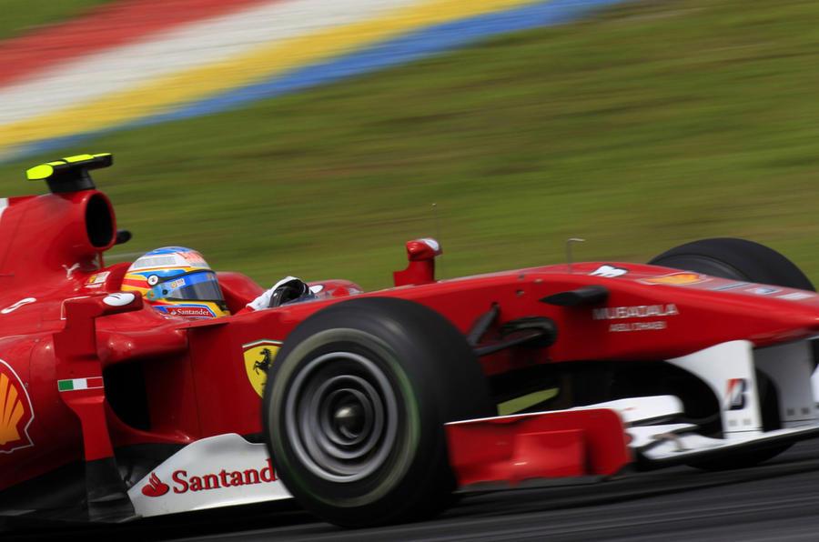 Hamilton fastest in F1 practice