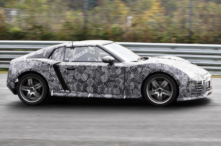 Roding Roadster spied testing