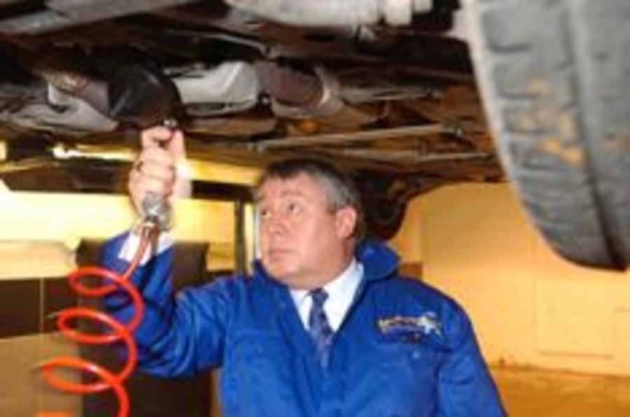 Franchised garage rates fall