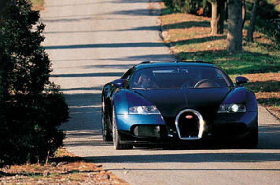 Bugatti Veyron Drive 1 - Autocar India