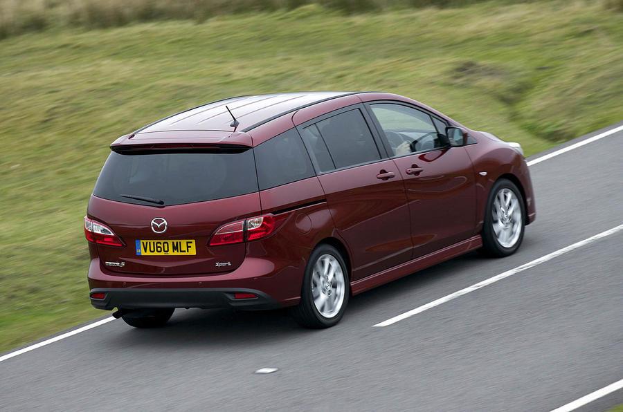 Mazda 5 2.0 TS2 rear