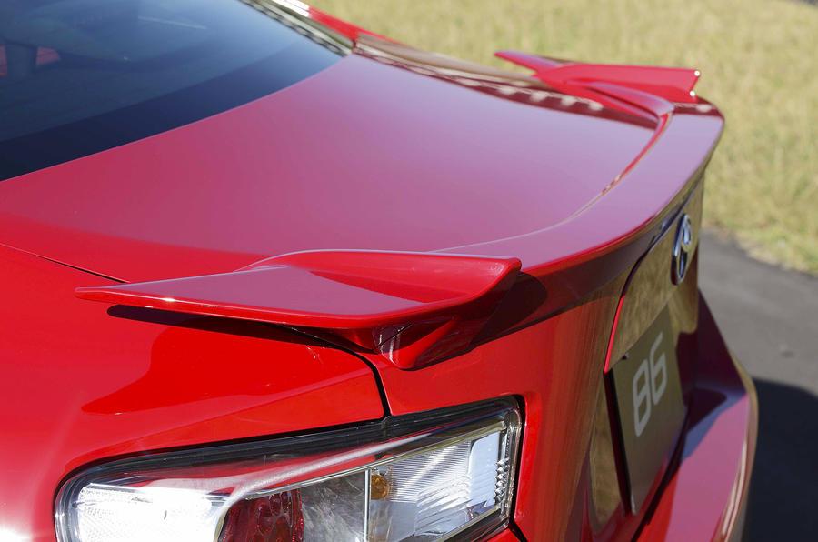 Toyota GT86 rear spoiler