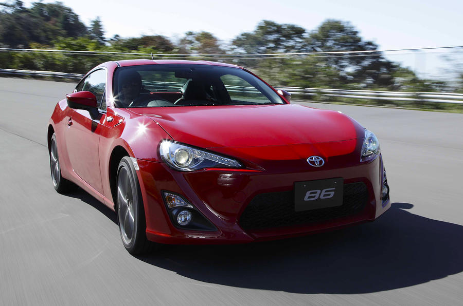 Toyota GT86 front end