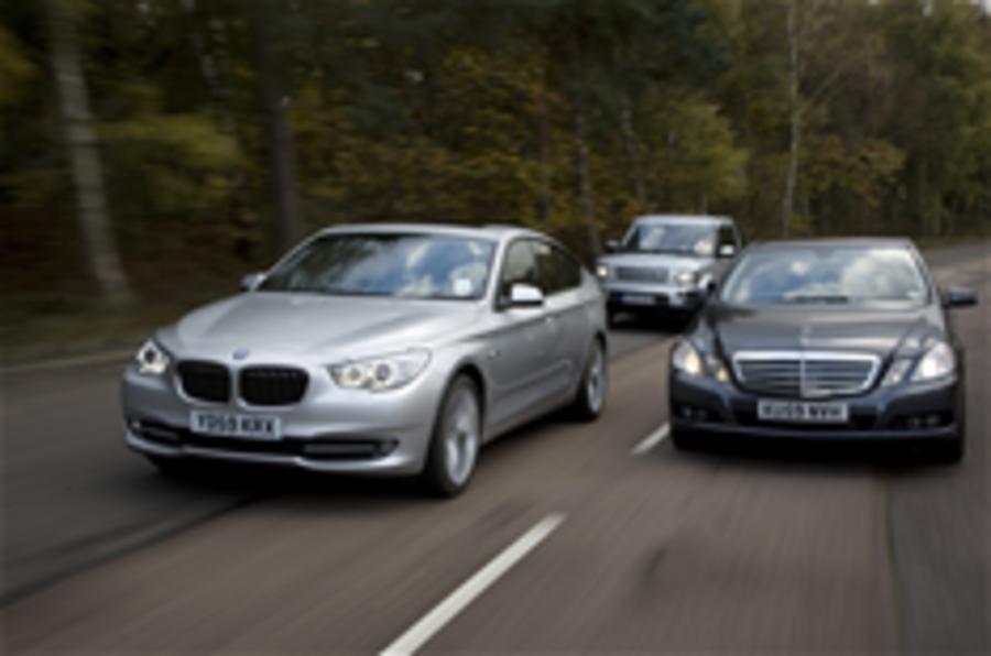 BMW 5-series GT v rivals - pics