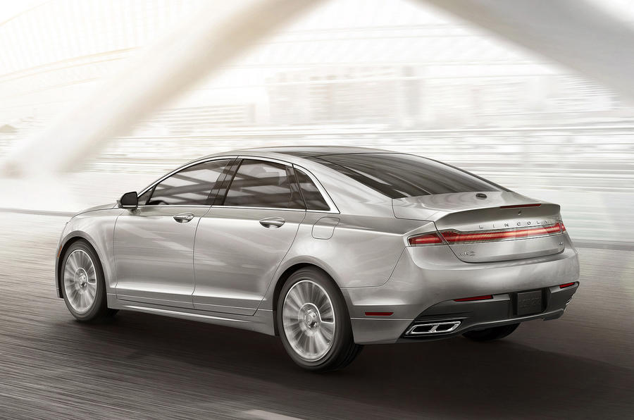 New York motor show: Lincoln MKZ