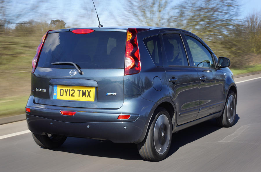 Nissan Note rear
