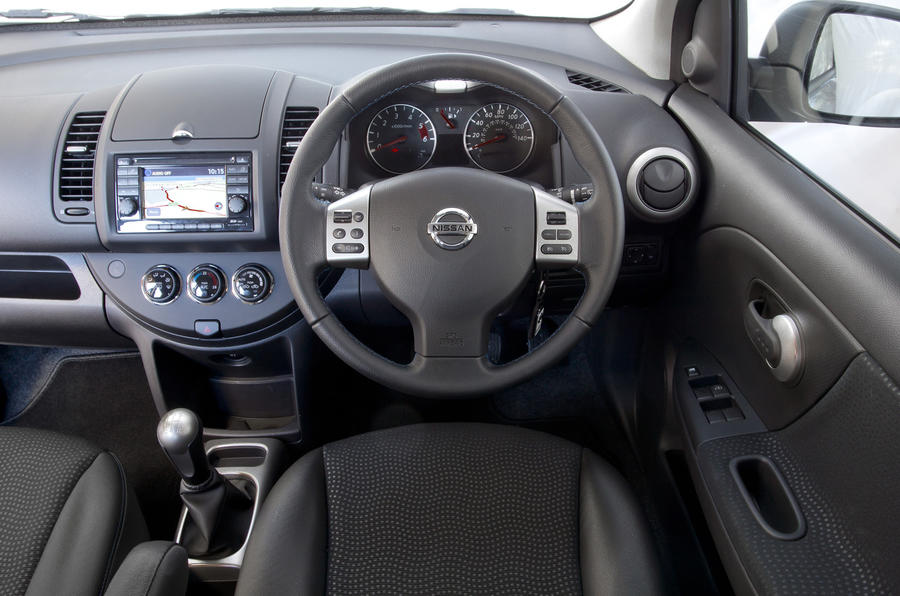 Nissan Note 1.5 dCi N-tec+ dashboard