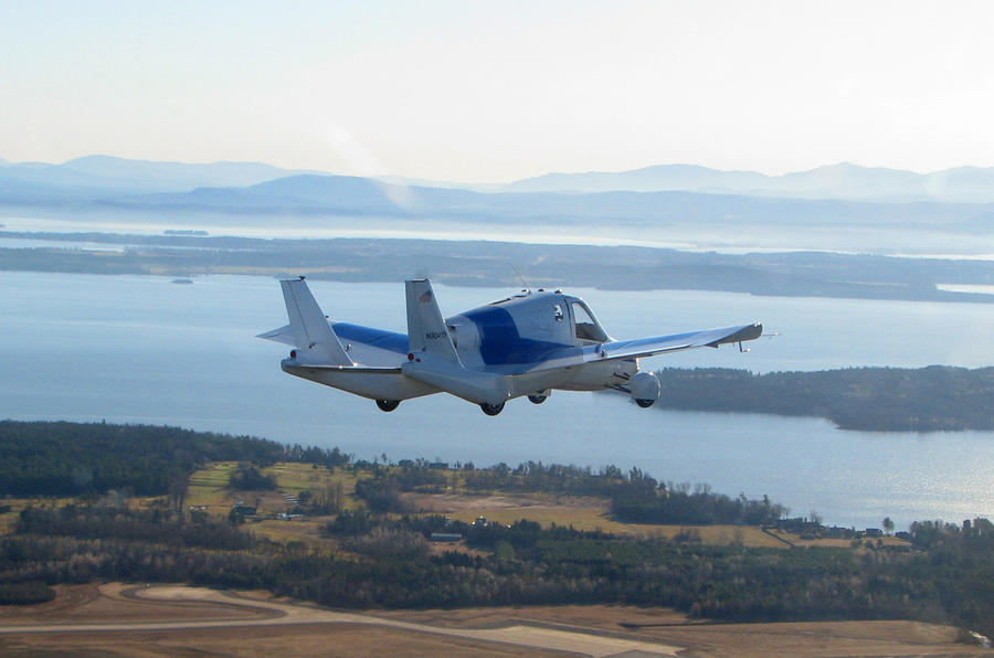 New York show: The flying car