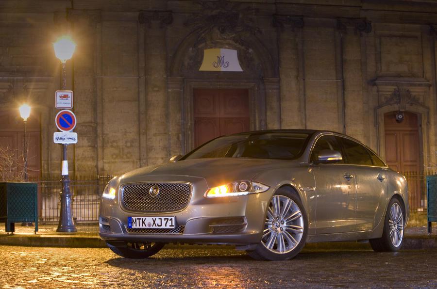 Jaguar XJ front quarter