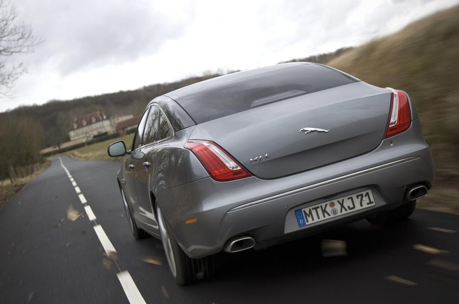 Jaguar XJ rear end