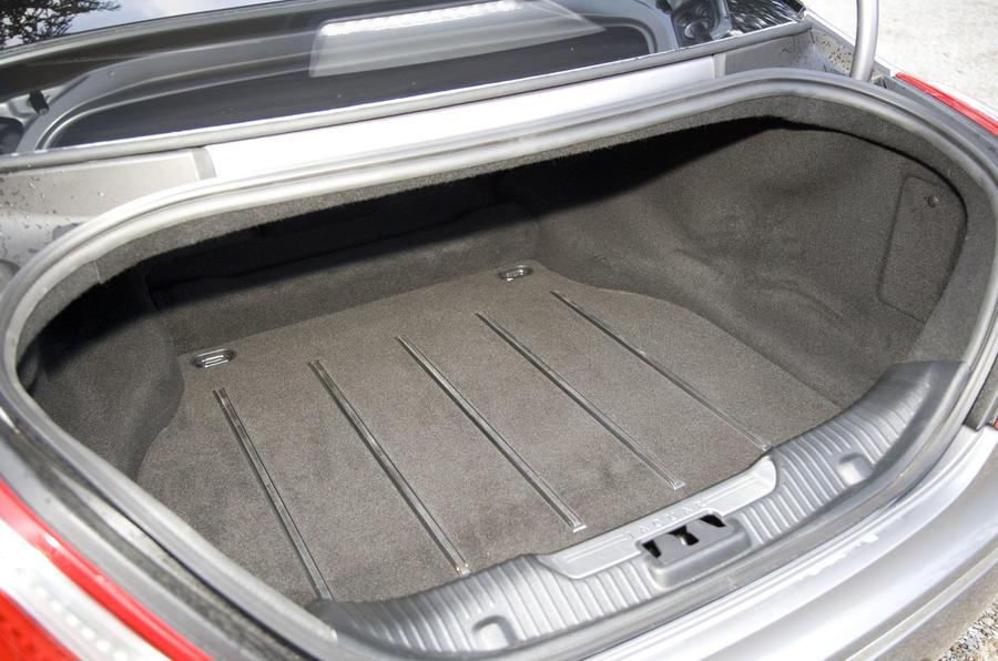 Jaguar XJ LWB boot space